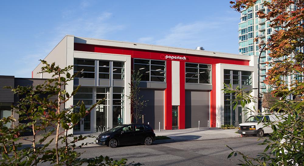 Papertech headquarters